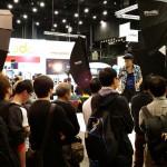 Hong Kong Photographer CY Hong gives a demo at the Phottix Booth.