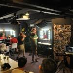 Joe McNally composing a shot at Lumengenie Studio, part of Creative Asia