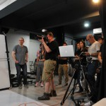Joe McNally at Lumengenie Studio in HK presenting his Small Flashes, Big Results workshop.