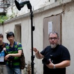 On the street with Zack Arias during his One Light Workshop at Creative Asia in Hong Kong