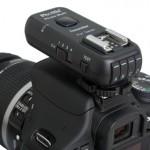 Phottix Strato II Multi Transmitter on camera