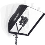 """Phottx Multi Bom 16"""", with flashes and softbox"""
